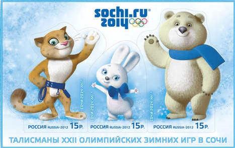 冬季奥运会绘画-2014 索契冬奥会 开幕