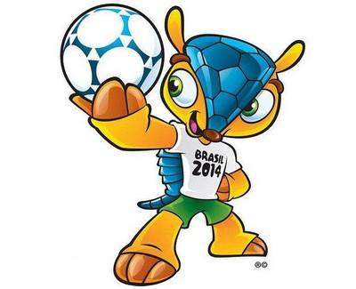 2014巴西世界杯口号标志吉祥物