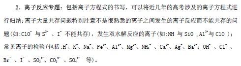 北京/一、确定复习专题,结合相应题型进行针对性强化训练...