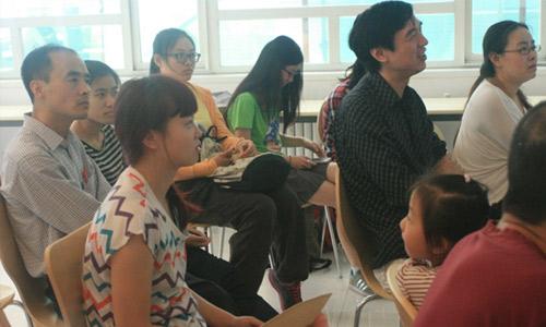 学员积极参与Q&A环节