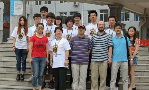 北京新东方领导慰问住宿部员工